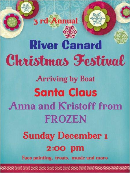 River Canard Canoe Christmas